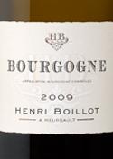 Henri Boillot Bourgogne 2009, Ac Bottle