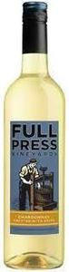 Full Press Chardonnay Bottle