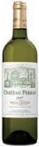 Château Ferran Blanc 2007, Ac Pessac Léognan Bottle