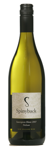 Spinyback Pinot Gris 2009, Nelson, South Island Bottle