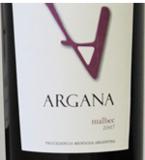 Argana Malbec 2007, Mendoza Bottle