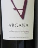 Argana Cabernet 2007, Mendoza Bottle