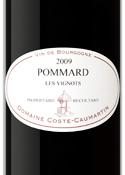 Domaine Coste Caumartin Les Vignots Pommard 2009, Ac Bottle
