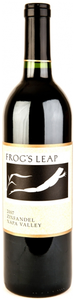 Frog's Leap Zinfandel 2008, Napa Valley Bottle