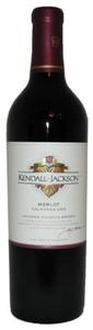 Jackson Vintner's Reserve Merlot 2008, Sonoma County Bottle