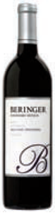 Beringer Founders' Estate Old Vine Zinfandel 2008, California Bottle
