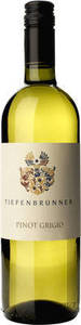 Tiefenbrunner Pinot Grigio 2010, Doc Südtirol Alto Adige Bottle