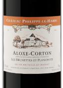 Château Philippe Le Hardi Les Brunettes Et Planchots Aloxe Corton 2009, Ac Bottle