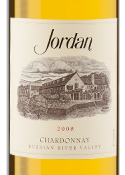 Jordan Chardonnay 2008, Russian River Valley Bottle