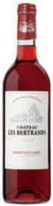 Château Les Bertrands Clairet Rosé 2010, Ac Bordeaux Clairet Bottle