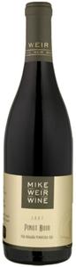 Mike Weir Pinot Noir 2008, VQA Niagara Peninsula Bottle