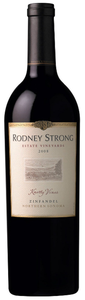 Rodney Strong Knotty Vines Zinfandel 2008, Sonoma County Bottle