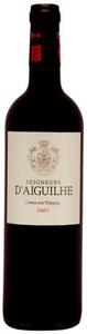 Seigneurs D'aiguilhe 2009, Ac Côtes De Castillon, 2nd Wine Of Château D'aiguilhe Bottle