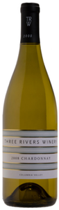 Three Rivers Chardonnay 2008, Columbia Valley Bottle
