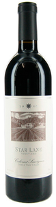 Star Lane Cabernet Sauvignon 2006, Santa Ynez Valley Bottle