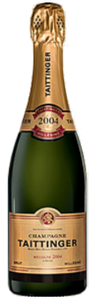 Taittinger Vintage Brut Champagne 2004 Bottle