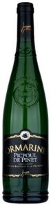 Jeanjean Ormarine Picpoul De Pinet 2010, Ac Coteaux Du Languedoc Bottle