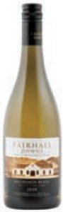Fairhall Downs 'single Vineyard' Sauvignon Blanc 2009, Southern Valleys, Marlborough Bottle