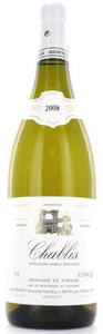 Alain Geoffroy Domaine Le Verger Chablis 2009, Ac Bottle