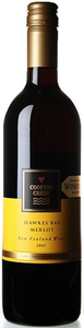 Coopers Creek Merlot 2009, Hawkes Bay, North Island Bottle