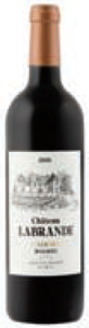 Baldes & Fils Château Labrande 2008, Ac Cahors Bottle