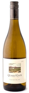 Quails' Gate Chenin Blanc 2010 Bottle