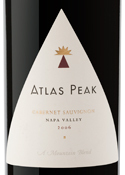 Atlas Peak Cabernet Sauvignon 2006, Napa Valley Bottle