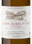 Domaine Henri Prudhon & Fils Sur Gamay St. Aubin 1er Cru 2009, Ac Bottle