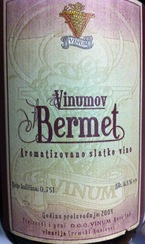 Vinumov Bermet Aromtizovano Slatko Red 16.5% 2009 Bottle