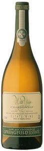 Springfield Estate Wild Yeast Chardonnay 2006, Wo Robertson Bottle
