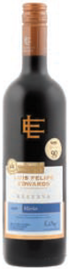 Luis Felipe Edwards Reserva Merlot 2009, Colchagua Valley Bottle