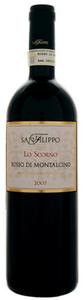 San Filippo Lo Scorno Rosso Di Montalcino 2008, Doc Bottle