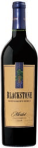Blackstone Winesmaker's Select Merlot 2008, California Bottle