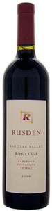 Rusden Ripper Creek Cabernet Sauvignon/Shiraz 2007, Barossa Valley, South Australia Bottle