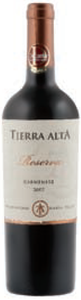 Tierra Alta Reserva Carmenère 2007, Maule Valley Bottle