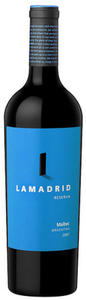 Lamadrid Single Vineyard Reserva Malbec 2008, Luján De Cuyo, Mendoza Bottle