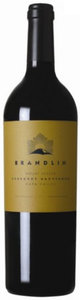 Brandlin Cabernet Sauvignon 2007, Mount Veeder, Napa Valley Bottle