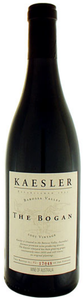 Kaesler The Bogan Shiraz 2007, Barossa Valley, South Australia Bottle