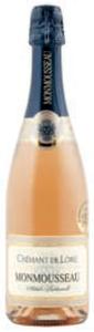 Monmousseau Brut Rosé Crémant De Loire, Ac, Loire, France, Méthode Traditionnelle Bottle