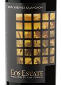 Eos Estate Private Reserve Cabernet Sauvignon 2007, Paso Robles Bottle
