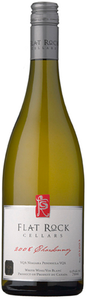 Flat Rock Chardonnay 2008, VQA Twenty Mile Bench, Niagara Peninsula Bottle