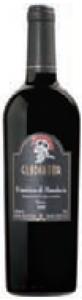 Gladiator Primitivo Di Manduria 2008, Doc Bottle