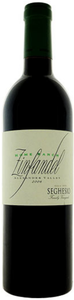 Seghesio Home Ranch Zinfandel 2009, Alexander Valley, Sonoma County Bottle