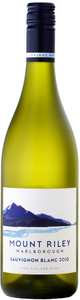 Mount Riley Sauvignon Blanc 2010, Marlborough, South Island Bottle