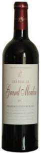 Château Le Grand Moulin 2008, Blaye, Ac Côtes De Bordeaux Bottle