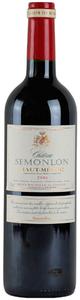 Château Semonlon 2008, Ac Haut Médoc Bottle