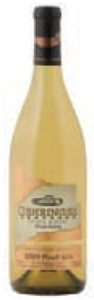 Gehringer Brothers Private Reserve Pinot Gris 2009, VQA Okanagan Valley Bottle