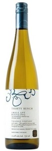 Thirty Bench Small Lot Triangle Vineyard Riesling 2008, VQA Beamsville Bench, Niagara Peninsula Bottle