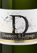 Dosnon & Lepage Recolte Noire Brut Champagne, Ac Bottle