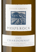 Poole's Rock Chardonnay 2008, Hunter Valley, New South Wales Bottle